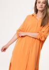 Pomarańczowa Sukienka Moralize