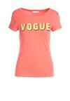 Koralowy T-shirt Radicalise