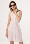 Beżowa Sukienka Stoppable