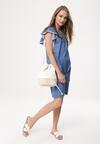 Niebieska Sukienka No Division