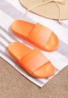 Pomarańczowe Klapki Constricting