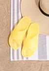 Żółte Klapki Scalding