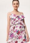 Kremowa Sukienka Very Lovely