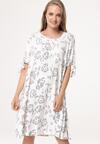 Biała Sukienka Scorcher