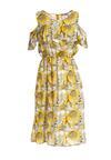 Żółta Sukienka Sightseeing