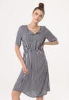 Granatowa Sukienka Carry On