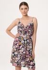 Granatowa Sukienka Indescribable Joy
