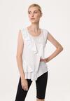 Biała Bluzka Deckchair