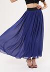 Ciemnoniebieska Spódnica Impressible