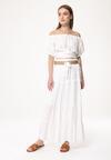 Biała Spódnica Moldable