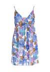 Niebieska Sukienka Zappy