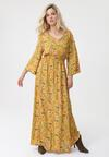 Żółta Sukienka Unheard Of