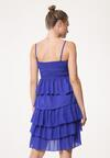 Ciemnoniebieska Sukienka Megacosm