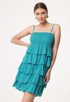 Niebieska Sukienka Megacosm