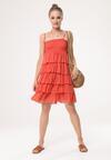 Pomarańczowa Sukienka Megacosm