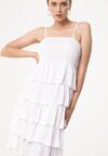 Biała Sukienka Megacosm