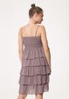 Ciemnobeżowa Sukienka Megacosm