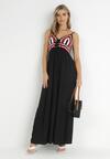 Czarna Sukienka Wing In