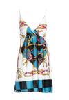 Biało-Niebieska Sukienka Unacquired