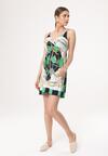 Biało-Zielona Sukienka Unacquired