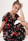 Czarna Sukienka Soaring Beauty