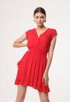 Czerwona Sukienka Effloresce