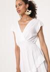 Biała Sukienka Effloresce