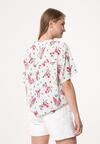 Biało-Różowa Koszula Explosion Of Colors