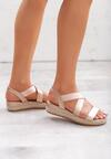 Różowe Sandały Bendable