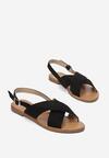 Czarne Sandały Canter
