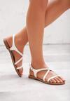 Białe Sandały Miscalculate
