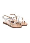 Srebrne Sandały Miscalculate