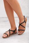 Czarne Sandały Miscalculate