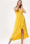 Żółta Sukienka Canorous