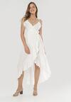 Biała Sukienka Canorous