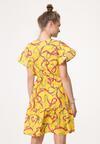 Żółta Sukienka High Sky