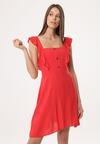 Czerwona Sukienka Be Buoyant