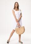 Biała Sukienka Be Buoyant