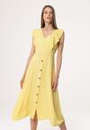 Żółta Sukienka Congenital