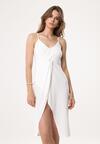 Biała Sukienka Jet Out