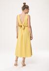Żółta Sukienka Close In