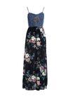 Granatowa Sukienka Remain Aloft