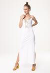 Biała Sukienka Morning Rain