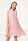 Jasnobeżowa Sukienka Tuned