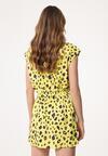 Żółta Sukienka Waterfall Of Love