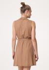 Brązowa Sukienka Arkose
