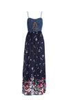 Granatowa Sukienka Sustained
