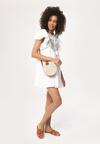 Biała Sukienka Woods