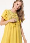 Żółta Sukienka Woods