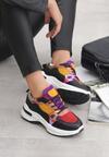 Czerwone Sneakersy Platinum